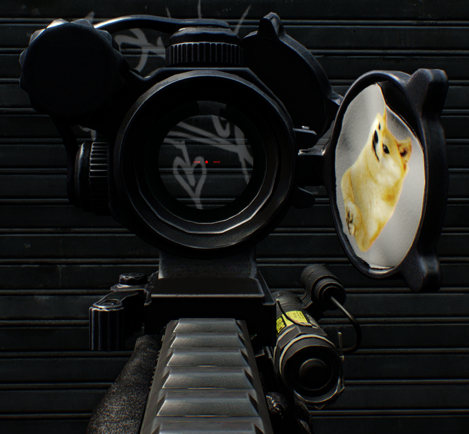 Doge sticker for aimpoint pro mods - Doge steam background ...