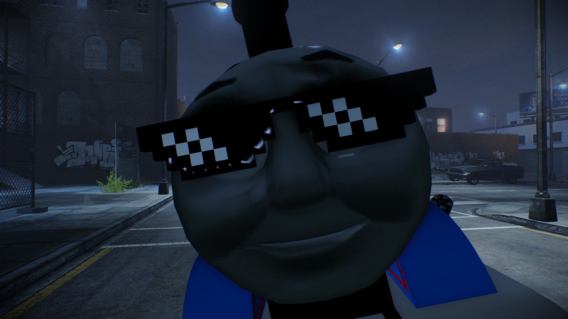 Thomas The Dank Engine - Mods