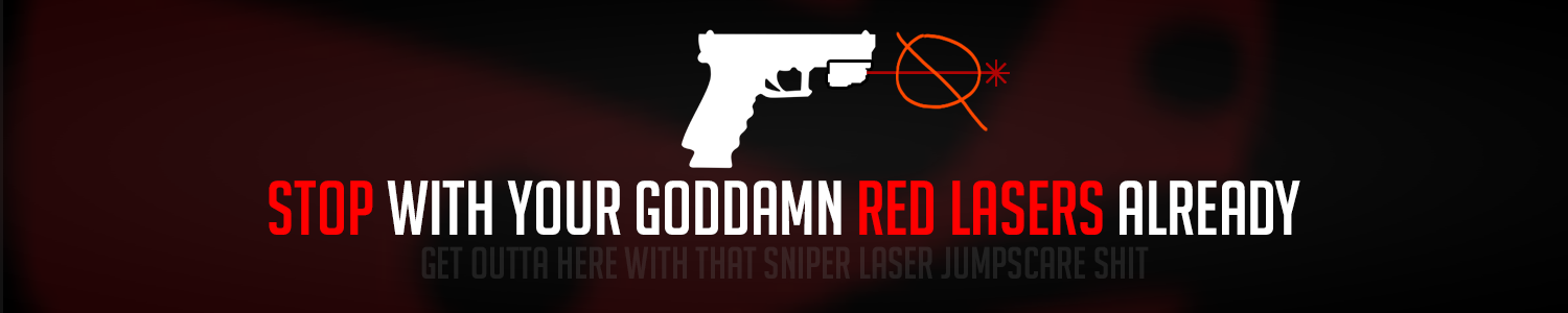 No Red Player Lasers - Mods