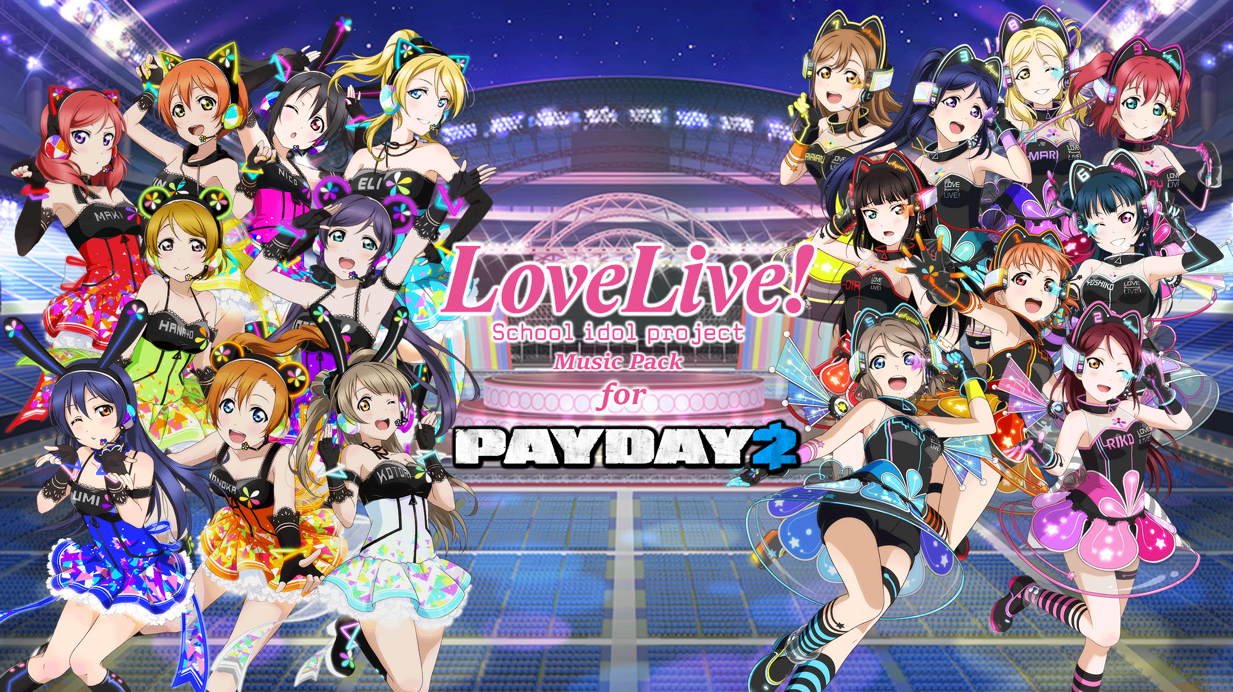 Love Live! Music Pack - Mods