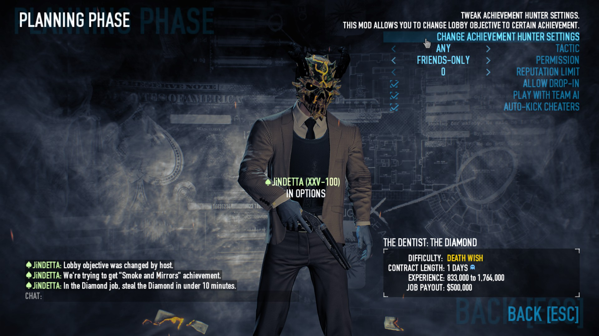payday 2 the end achievement