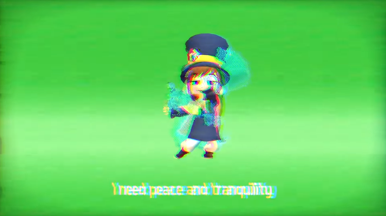 SUPERBLT] Peace and Tranquility Menu music - A Hat in Time OST - Mods