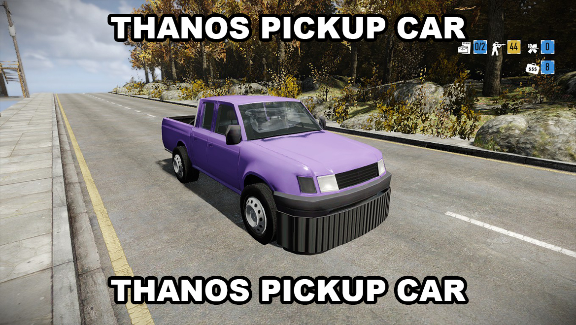 Toyota Tacoma Mods >> THANOS CAR replaces Pickup Truck - Mods