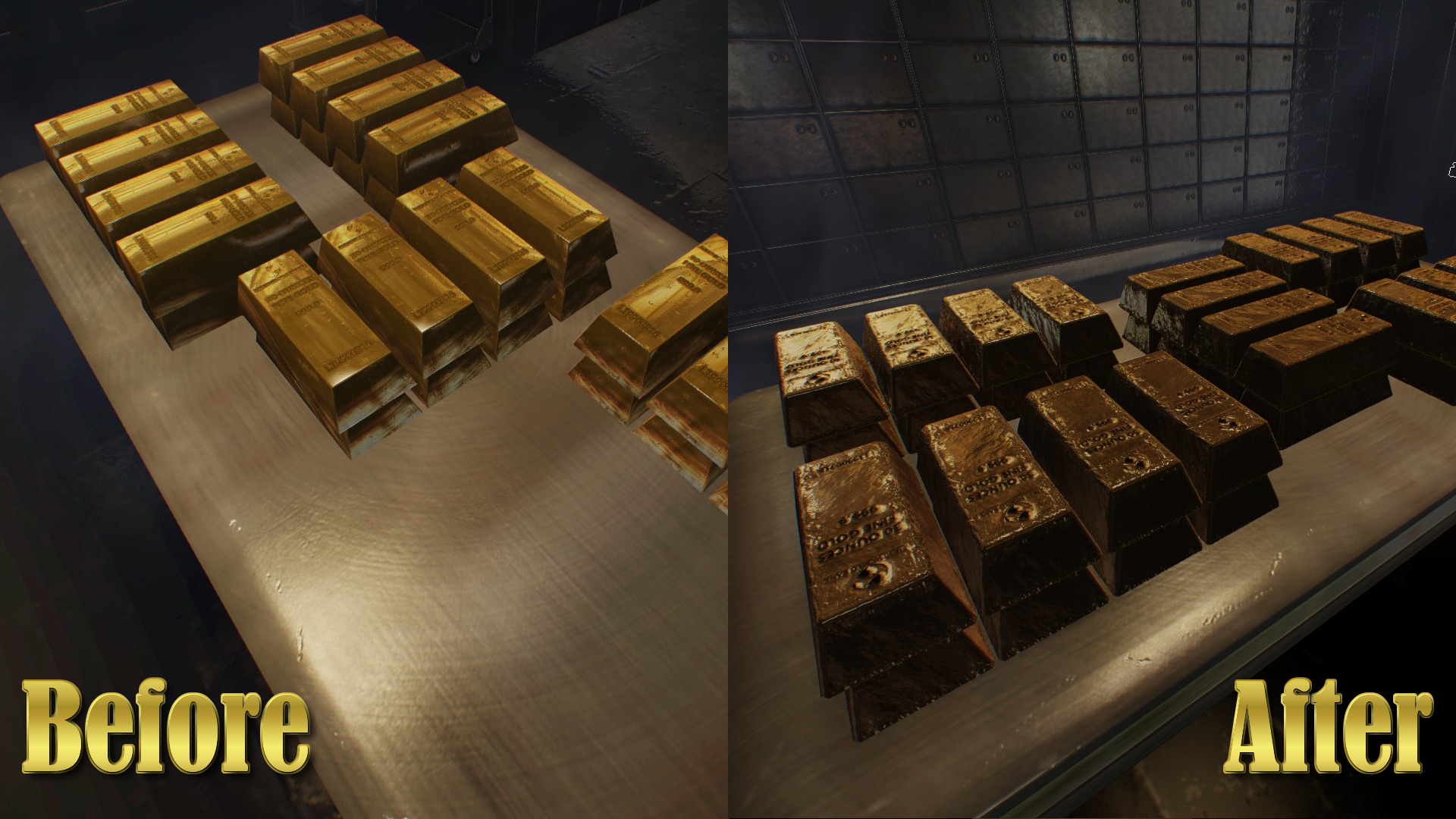 Payday The Heist Gold Bars Mods