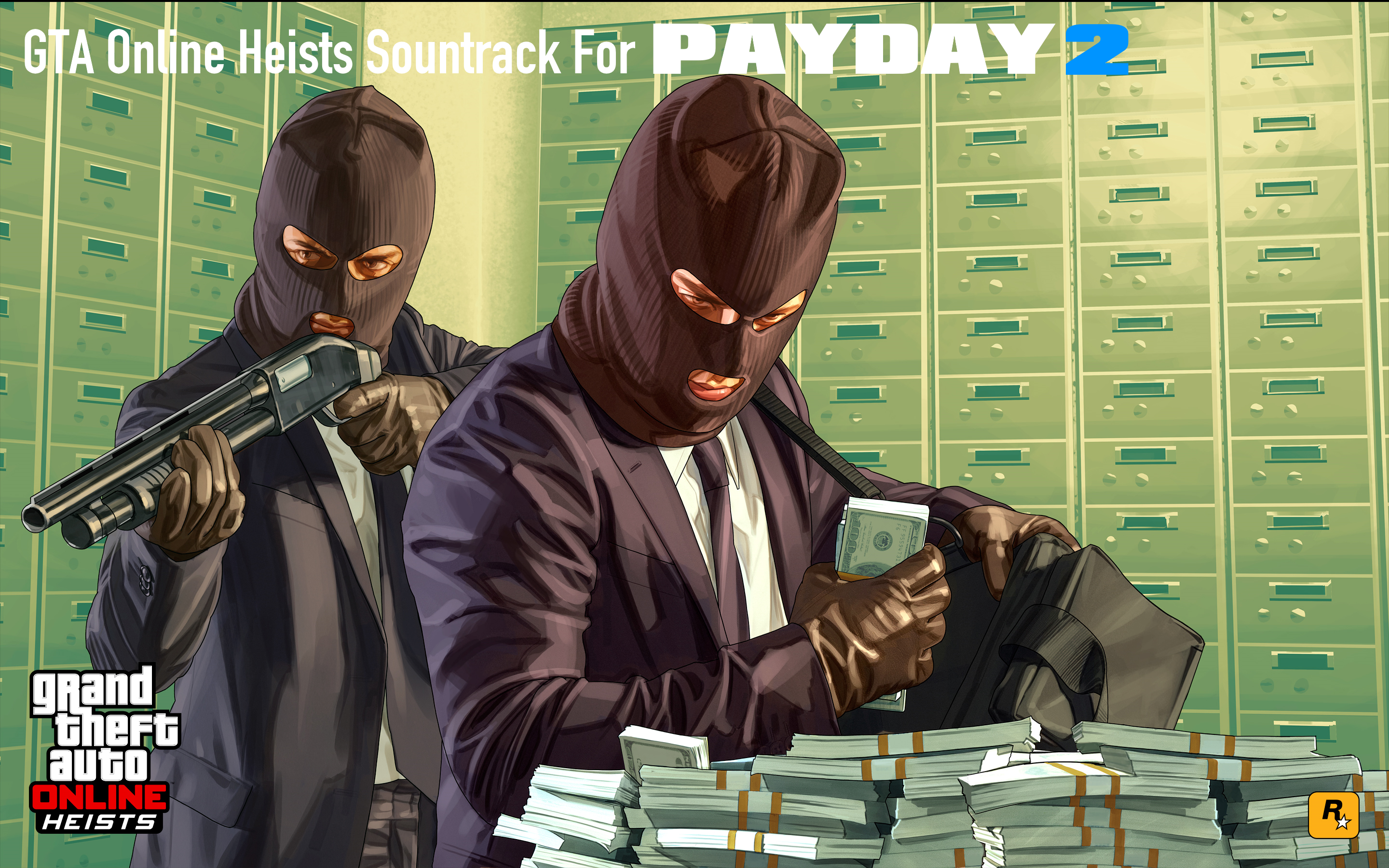 GTA Online Heists Soundtrack for PAYDAY 2 [Standalone] - Mods