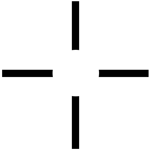 overwatch how to make the crosshair
