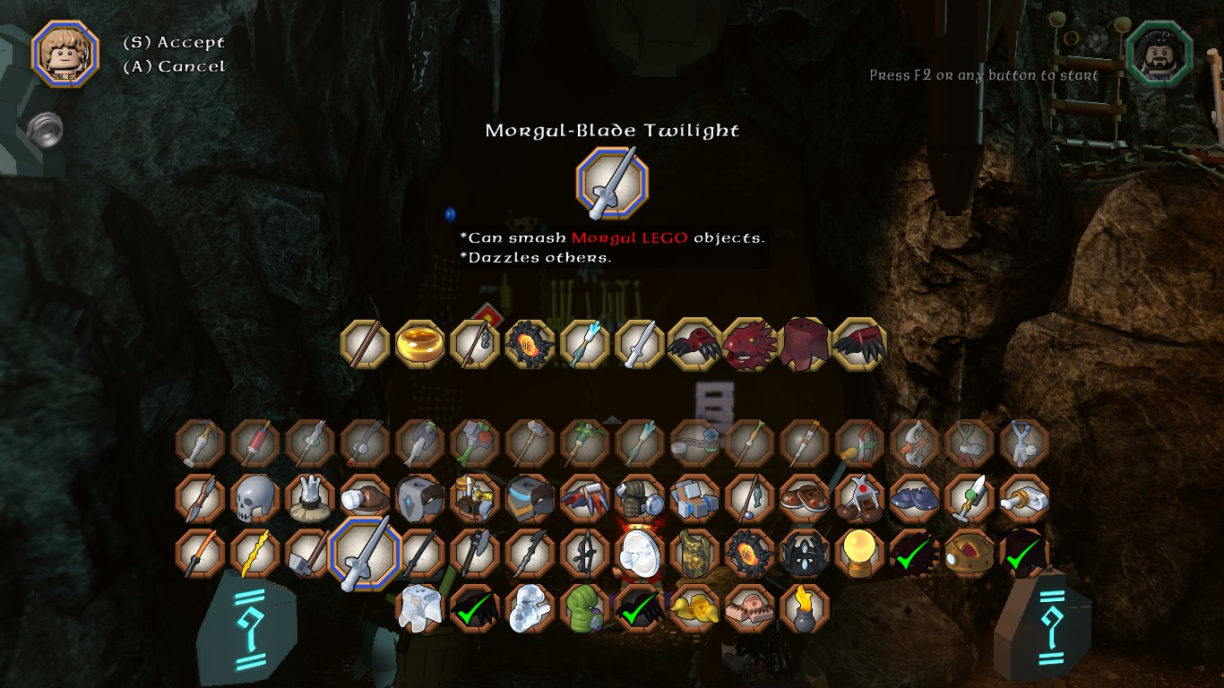 LEGO The Hobbit DLC Character And Items Fix - Mods