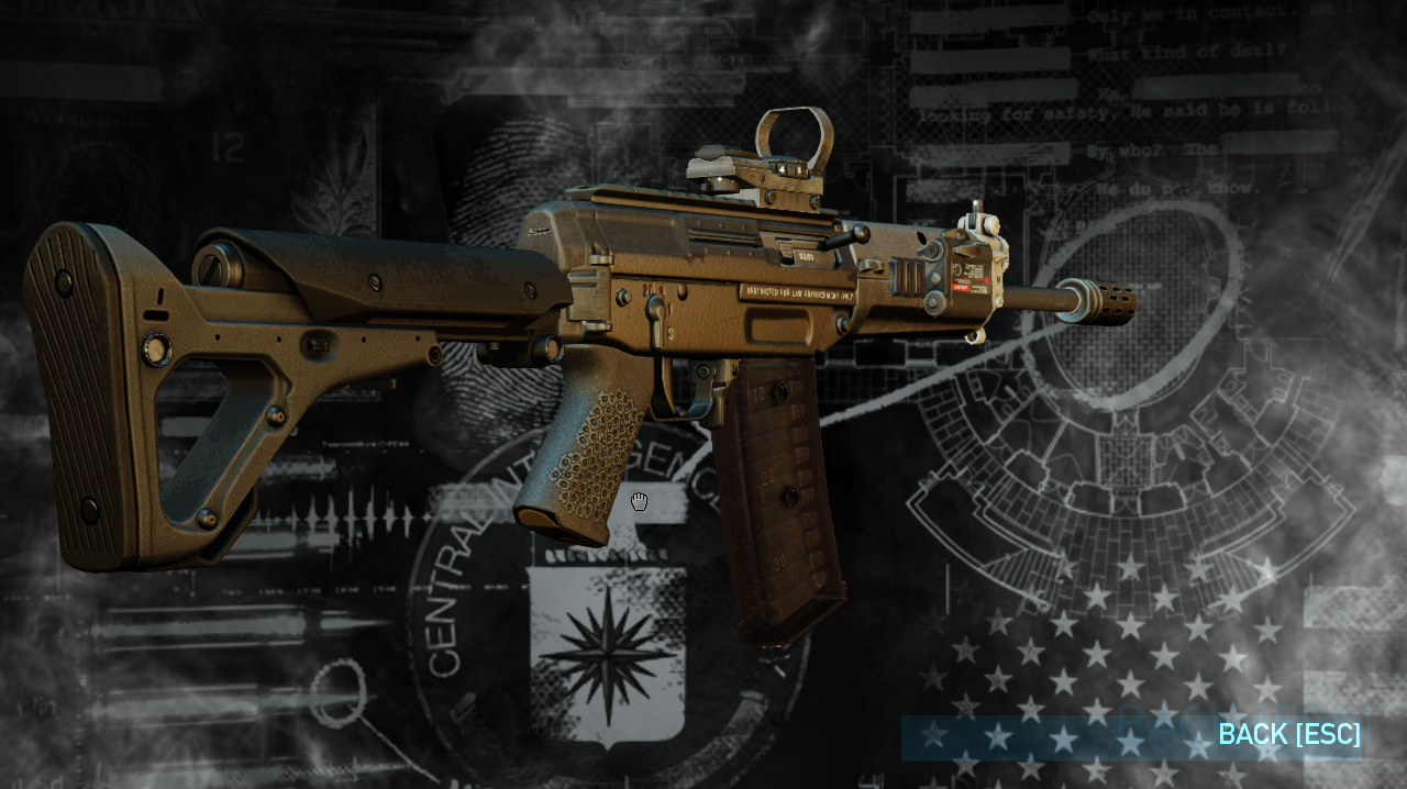 2 piece stock payday 2